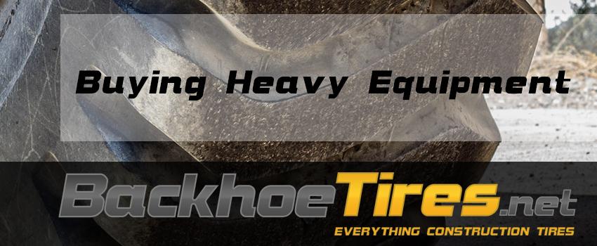 Buying Heavy Equipment