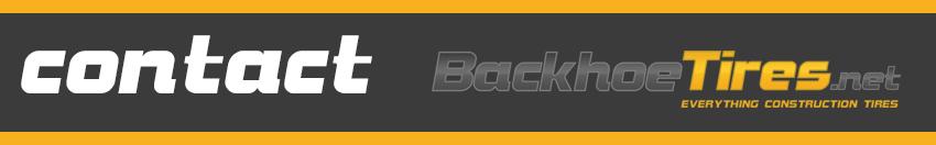Contact Backhoe Tires